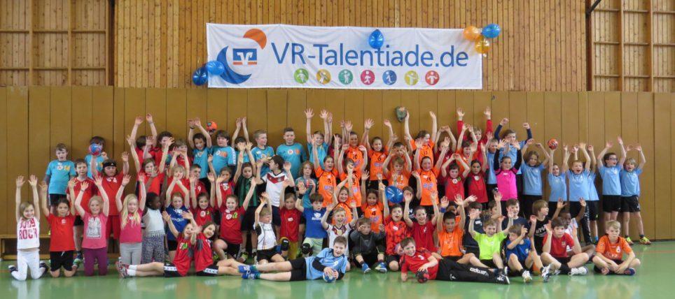 SG Stutensee-Weingarten bei der VR-Talentiade sehr erfolgreich