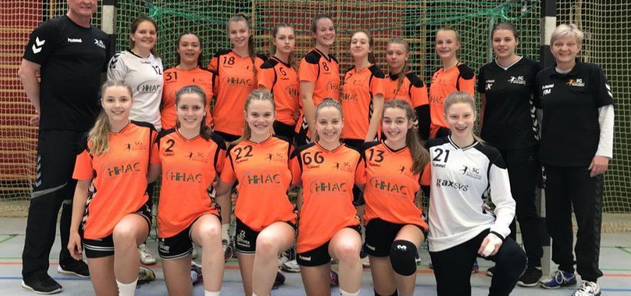 SG-SW Handball * weibliche B-Jugend * Erste Runde der BWOL Qualifikation