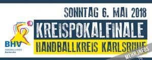 Männer Kreispokalfinale Handballkreis Karlsruhe @ Sporthalle 1 Schulzentrum Blankenloch | Stutensee | Baden-Württemberg | Deutschland