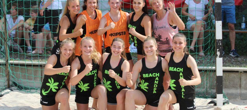BWOL Team wiederholt Turniersieg beim Beachhandball