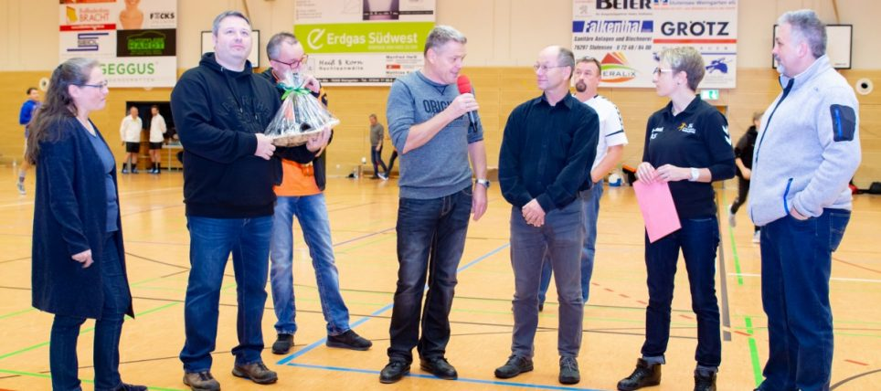 Die SG Stutensee-Weingarten dankt dem bisherigen Vorstand Uli Gramm