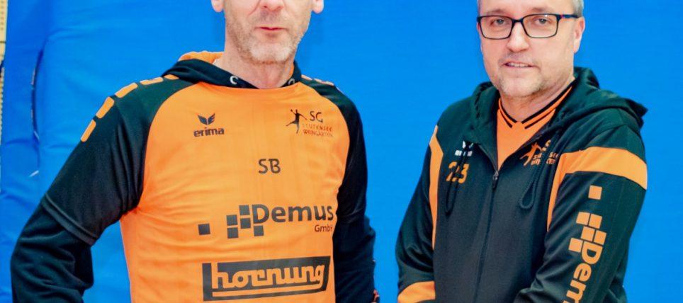 SG Stutensee-Weingarten plant für weitere zwei Jahre mit Trainer Steffen Bechtler