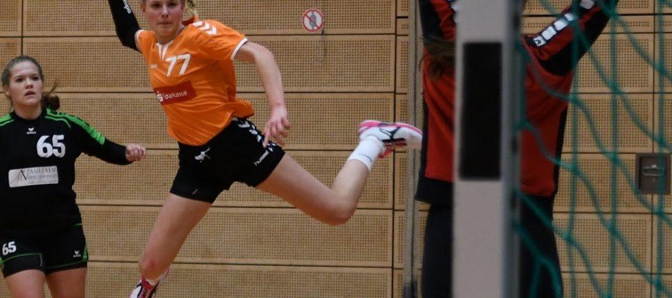 weibliche A-Jugend – Mit neuem Sponsor Tabellenführer geschlagen 37:30 (18:16)