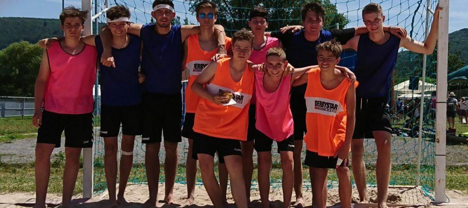 Erster + Zweiter beim Beach-Turnier in Ettlingenweier