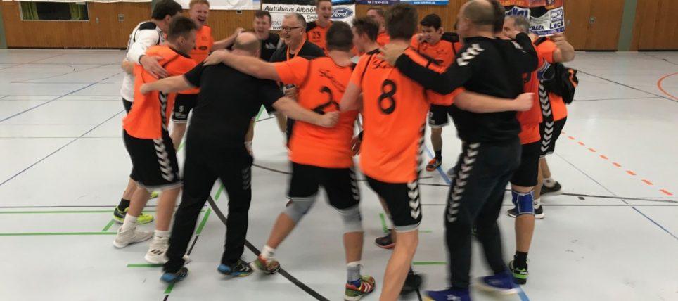 Auswärtssieg! SV Langensteinbach 2 (22 – 23) SGSW 2