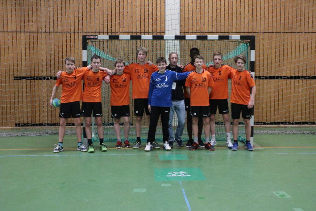 Gute Leistung der mC1 gegen die SG Leutershausen-Heddesheim