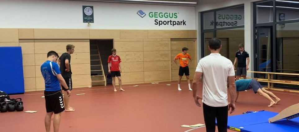Fitnesstraining im neuen GEGGUS® Sportpark