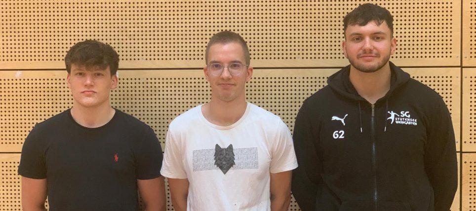 Trainer-Portrait: Phillip, Jonah und Johannes