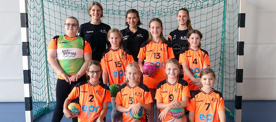 Weibliche E-Jugend geht mit neuen Spielsystem in die Runde